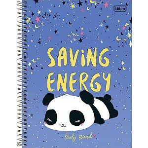 Caderno Panda Tilibra 2020