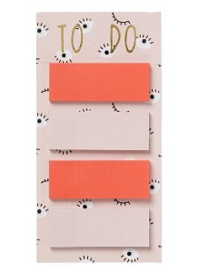 Cartela Grande Sticky Notes Neon Hema