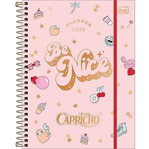 Planner Capricho Tilibra Rose Gold