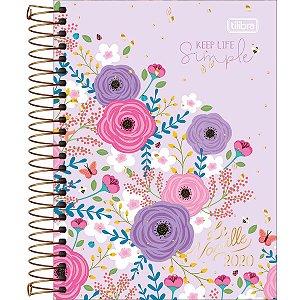 Agenda Floral Le Vanille Tilibra
