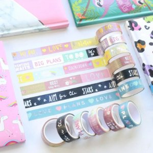 Washi Tape Metalizada Luxo