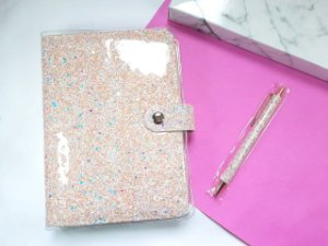 Planner Glitter Luxo Completo
