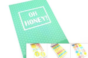 Sticker Book Oh Honey!