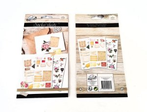Sticker Book Grande Vintage Floral