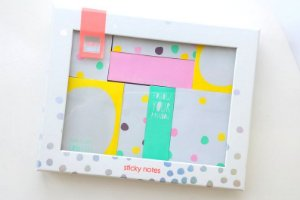 Sticker Notes Confetti Hema Kit