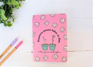 Caderneta Flowery Day