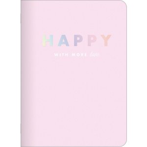 Caderneta Holográfica Happy 2021