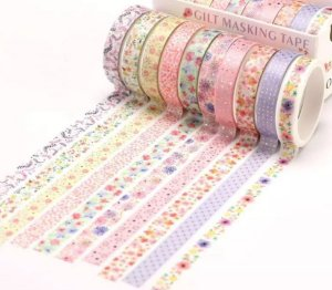 Washi Tape Fininha Floral