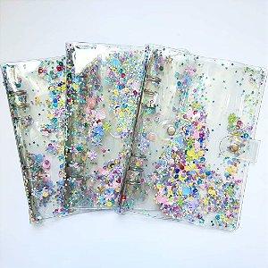 Fichário/ Planner Glitter Fun