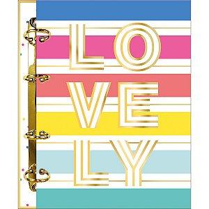 Fichário Colegial Lovely Color (Be Nice) Tilibra