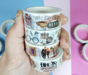 Washi Tape Friends, HP e Stranger Things