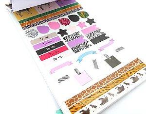 Sticker Book Luxo Oncinha Fun