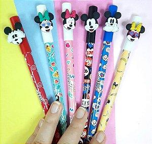 Caneta Minnie e Mickey Apagável (Tinta azul)