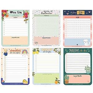 Bloquinho de Planejamento Diário e Listas