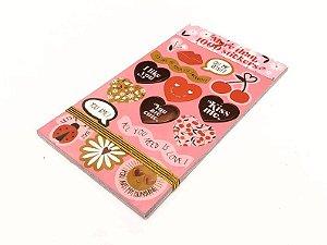 Sticker Book  Importado Margaridinhas