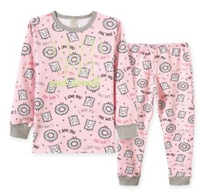 Pijama Longo Infantil Doces - Pingo Lelê 76205
