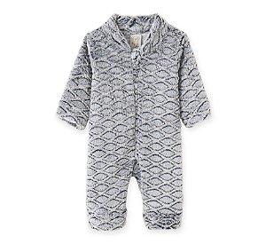Macacão em Fleece Infantil Geométrico Pingo Lelê 9060