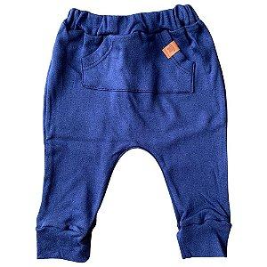 Calça Saruel (mijão) para Bebê 66854 Azul
