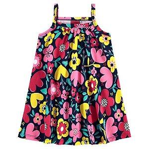 Vestido Infantil Regata Floral Kyly 111083