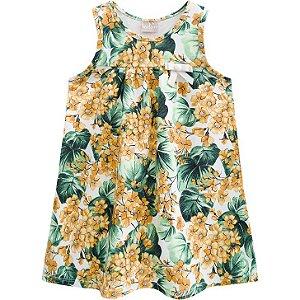 Vestido Infantil Milon Floral 12336