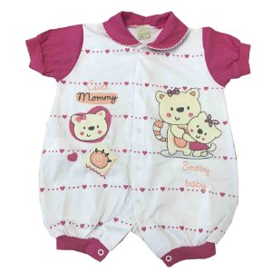 Macacão Curto Smoby Baby Pink 937430