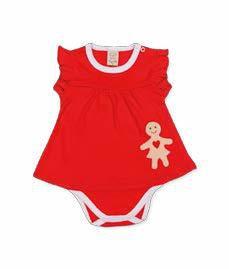 Vestido Body para Bebê Natal Pingo Lelê 65910