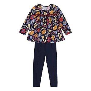 Conjunto Infantil Bata + Legging - Nanai - 600376