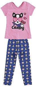 Conjunto Infantil Legging e Blusa Kyly 109151