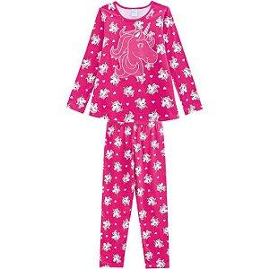 Pijama Anti Mosquito Infantil Unicornio Kyly Pink 207009