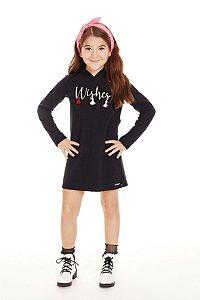 Vestido Infantil Manga Longa em Malha - Pega Mania - 53053