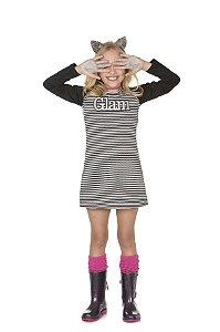 Vestido Infantil Manga Longa - Pega Mania - 53041