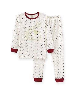 Pijama Infantil Longo Brilha no Escuro - Pingo Lele 76092