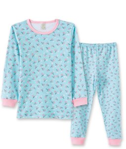 Pijama Longo Infantil em Suedine Pingo Lelê 76030