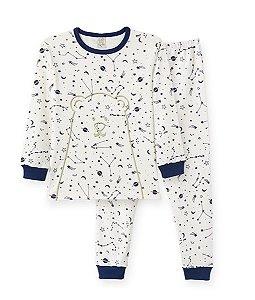 Pijama Longo Infantil em Suedine Pingo Lelê 86125