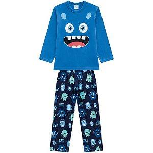 Pijama Longo Monstrinho Masculino Kyly 207249