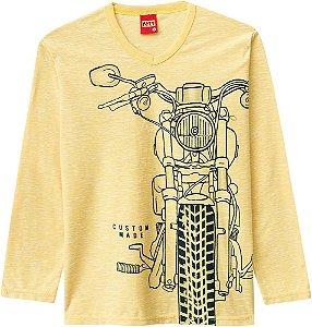 Camiseta Infantil Manga Longa Menino - Kyly - 206756