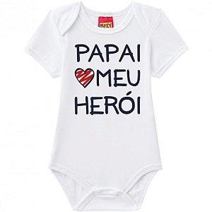 Body Bebê Unissex Frase Papai Kyly 110105