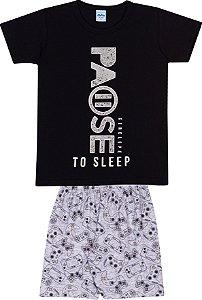 Pijama Infantil Curto - Serelepe 6286