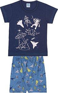 Pijama Infantil Curto - Serelepe 6285