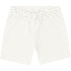 Short Infantil Cotton Off White - Kyly 107623