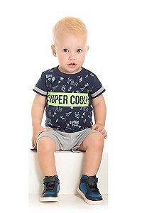 Conjunto Bebê Short Moletinho e Camiseta 5628