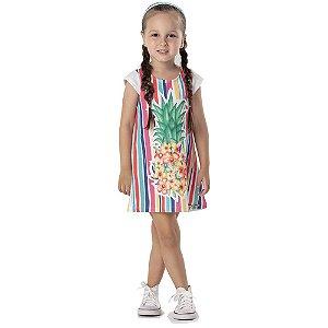 Vestido Infantil Regata Mon Sucre 7014
