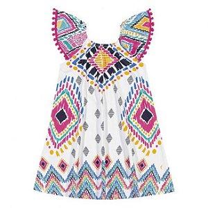 Vestido Infantil em Meia Malha Nanai 600232
