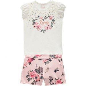 Conjunto Infantil Milon Short + Blusa 11667