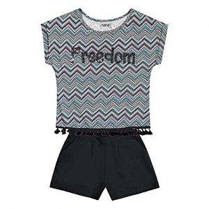 Conjunto Infantil Short + Blusa Nanai 600259