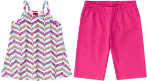 Conjunto Infantil Regata + Bermuda Cotton Kyly  108885