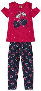 Conjunto Infantil Legging e Blusa Kyly 109153