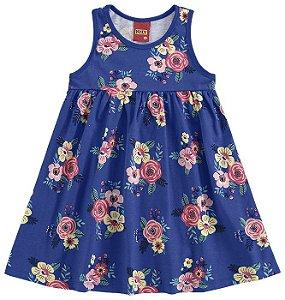 Vestido Estampado Flores Kyly 109136
