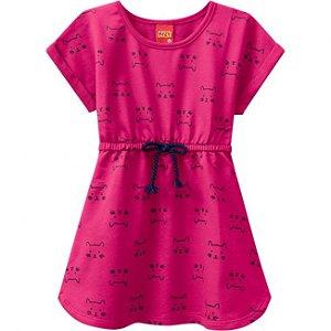 Vestido Infantil Gatinho Kyly 109639