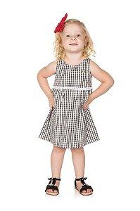Vestido Infantil Xadrez Pega Mania 54108